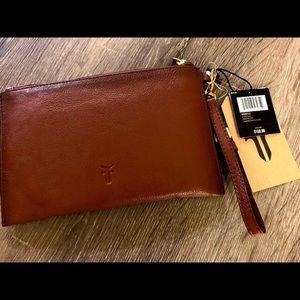 BNWT $158 Frye Genuine Leather Clutch
